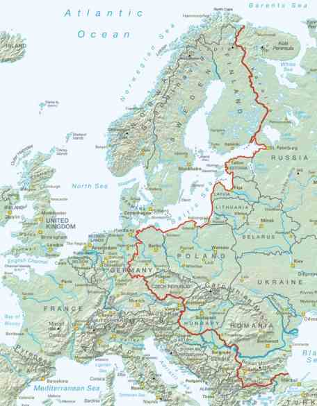 Europe Turns Iron Curtain Into Bike Path Good News Network