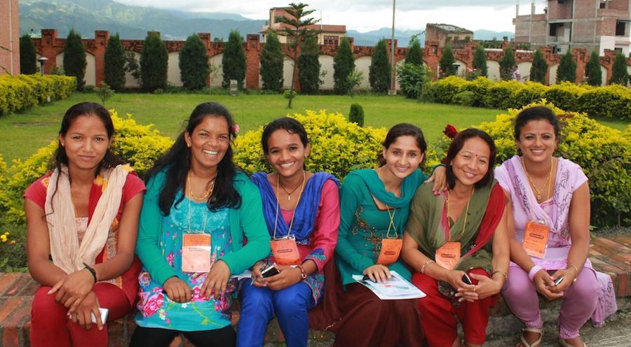 women-in-Nepal-Gender-workshop-CC-CCAFS