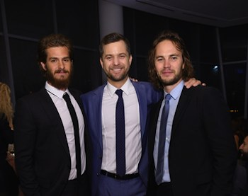 Andrew Garfield Joshua Jackson and Taylor Kitsch-by Dimitrios Kambouris:Getty Images for GQ