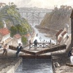 Erie Canal Drawing-1836-pubdomain