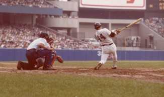 Reggie_Jackson_bats_at_Yankee_Stadium-CC-Jim Accordino