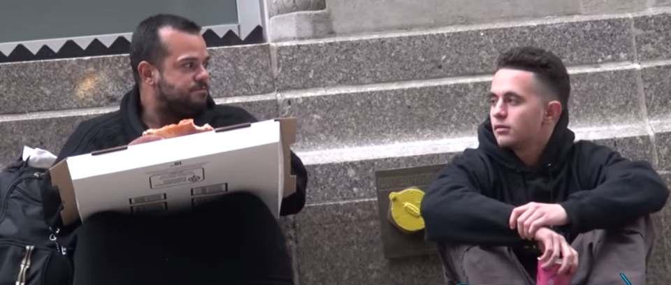 homeless-guy-shares-pizza-OckTV-Youtube