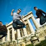 Greek-men-jump-parthenon-CC-Éole