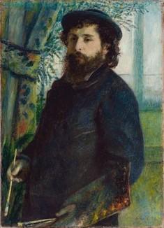 Renoir-1875-portrait of Claude_Monet