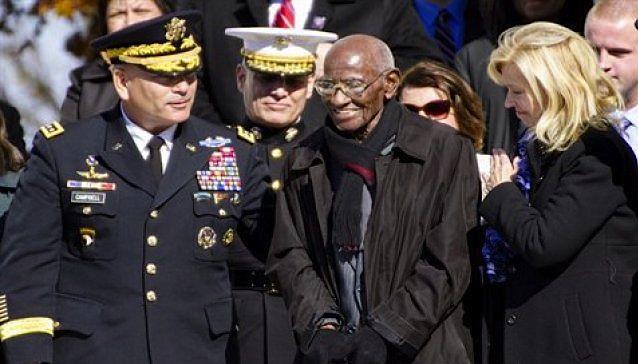Richard Overton oldest US veteran-DOD