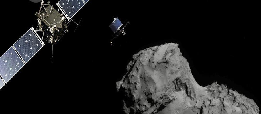 Rosetta_at_Comet_landscape_ESA