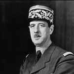 WWII French General Charles De Gaulle