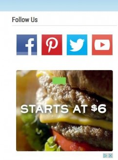 ad-on-website-shows-cheeseburger