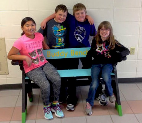 buddy-bench-Travis Powell-submitted-to-Ashland Daily Press