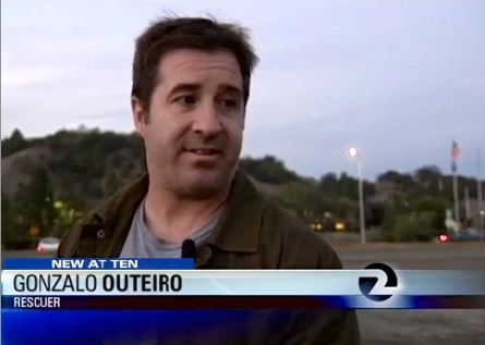 hero saves man with hunch KTVU graphic screengrab