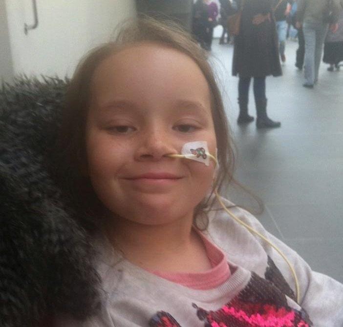 hospitalized Frankie-Rose Lea-GoFundMe