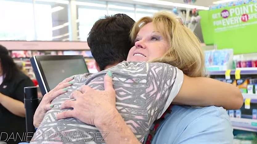 hugging-YouTube-DanielFernandez-charity