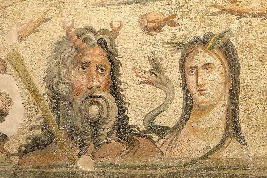 mosaic-Ocean and Tithys