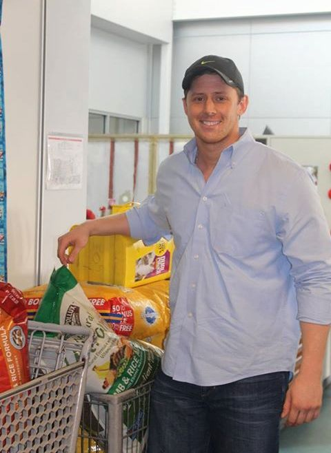 Bryce Vucekovich-donates-winnings to pets shelter FBphoto