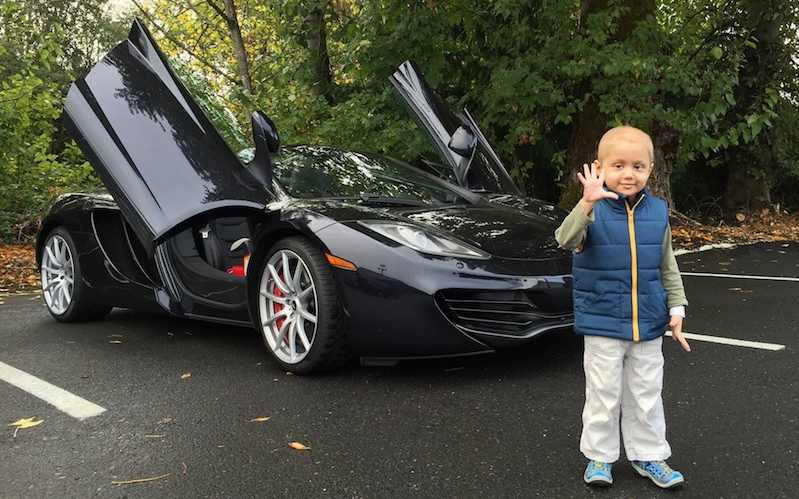 Portland Couple Uses Their Super Car Collection For Good