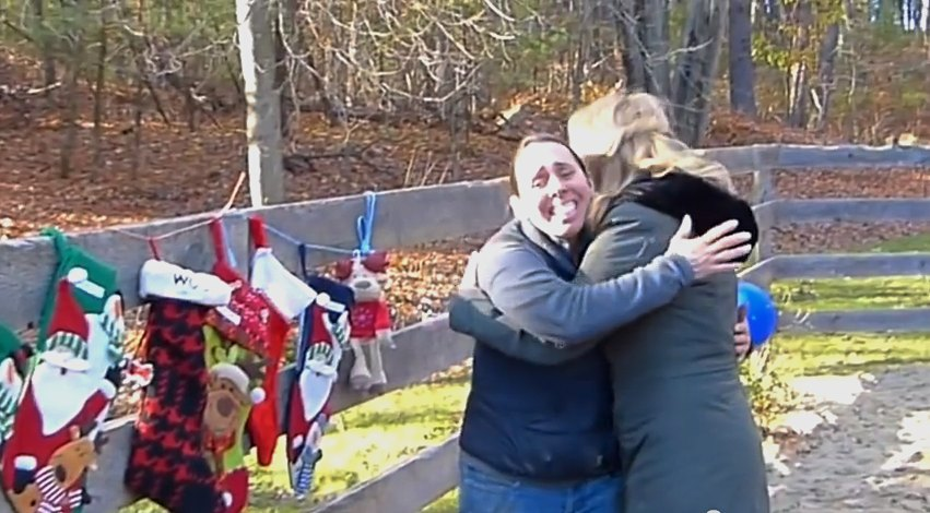 Harmony-Fund-surprises-animal-rescuer-hugs-holiday
