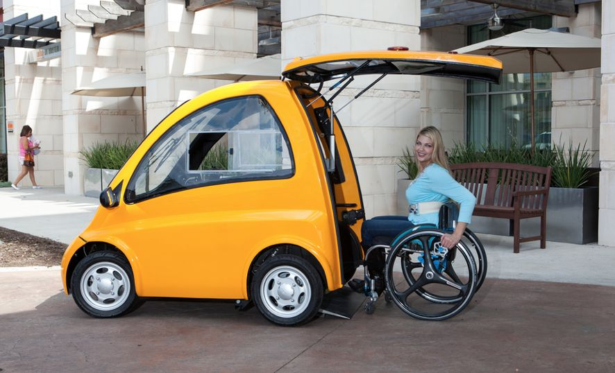 Kenguru-car-wheelchair-entry