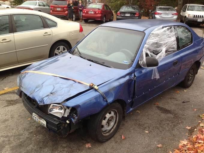 beatup car-FB