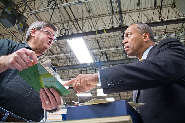 black executive visits manufacturing plant-DevalPatrick-CC-flickr