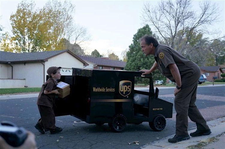 Company Gives Boy Who Loves Ups A Mini Brown Truck To