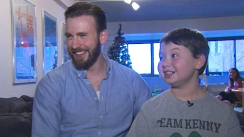 chris evans visit cancer patient-WBZvid