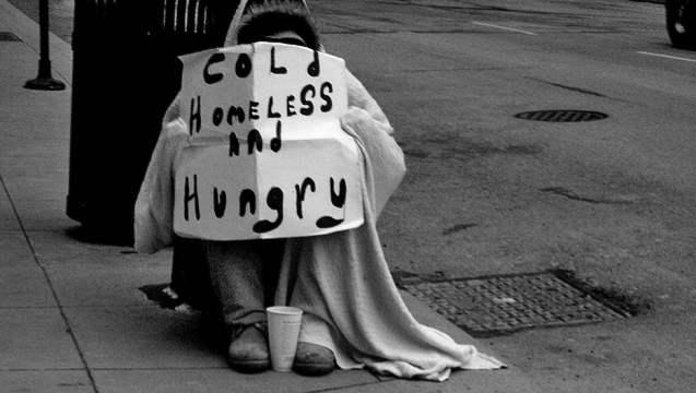 homeless-man-Lancashire-student-fundraisingpage-GoGetFunding