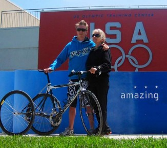 Aaron Baker and Laquita USA paralympics