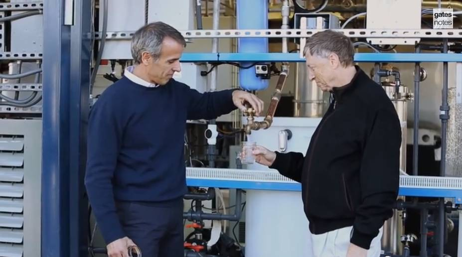 Bill Gates water from feces-GatesNotesVideo