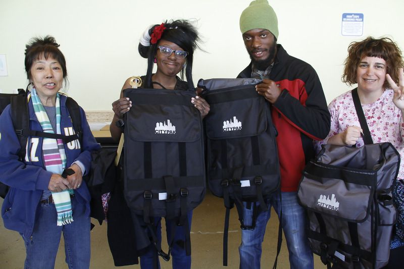 CityPak-homeless-distribution of backpack