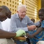 Jimmy Carter Center Guinea Worm treatment