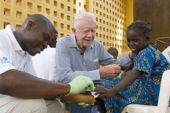 Jimmy Carter Center Guinea Worm treatment