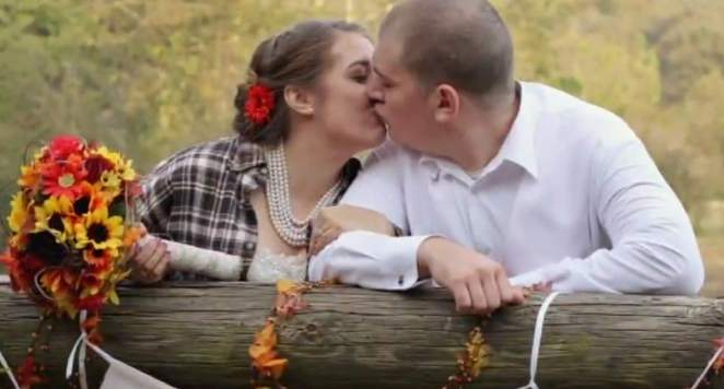 Kayla and Matt Losh wedding photo-WCNCvid