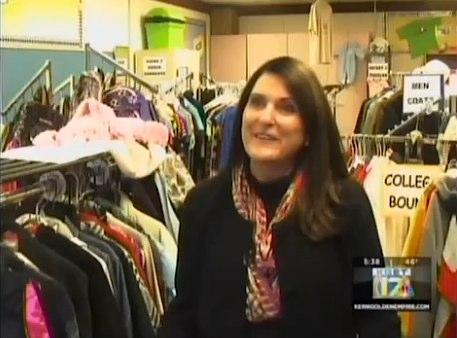 Susan Holloway-teacher-starts-clothing-bank-at-school-KGETvid