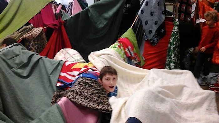 blanket fort-Greensborodaycenter
