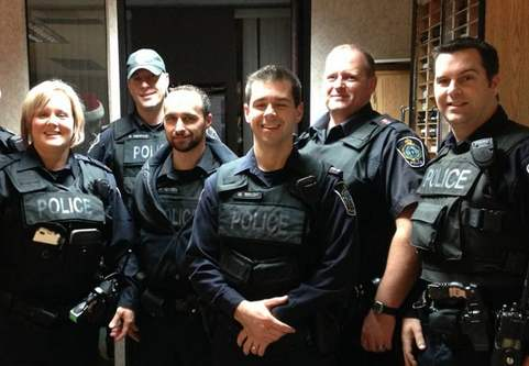 police from cornwall ontario-FBpage