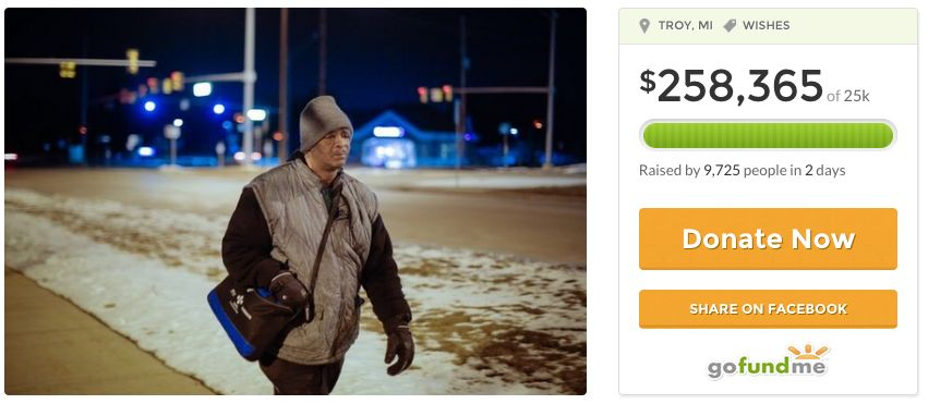 GoFundMe-Buy James a Car