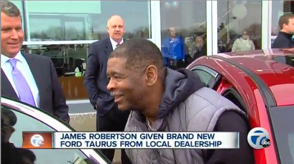 Man gets new car from Ford Dealer-WXYZvideo