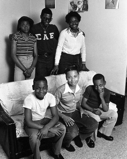 Mary Mingo family photo