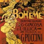 Original La Boheme poster -1896