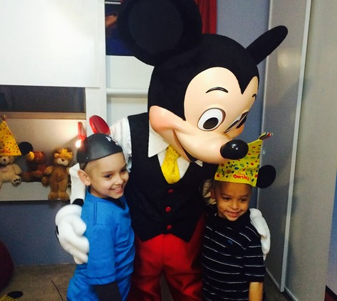 mickey-mouse with boys-SpecialSpacesFBPhoto