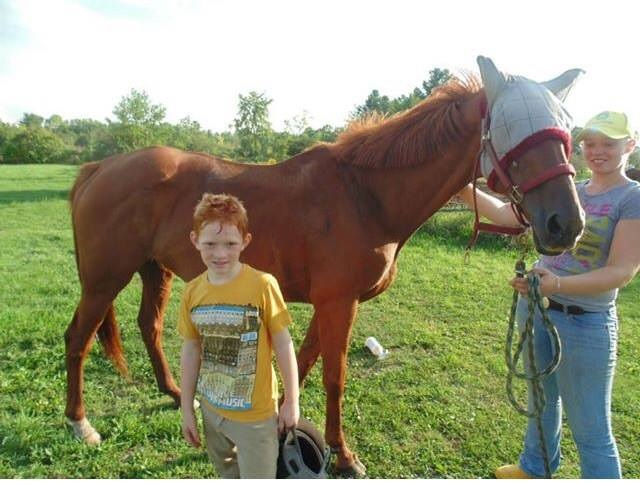 Boy_Saves_Horse_With_BdayMoney_FamilyPhotoMJAllen