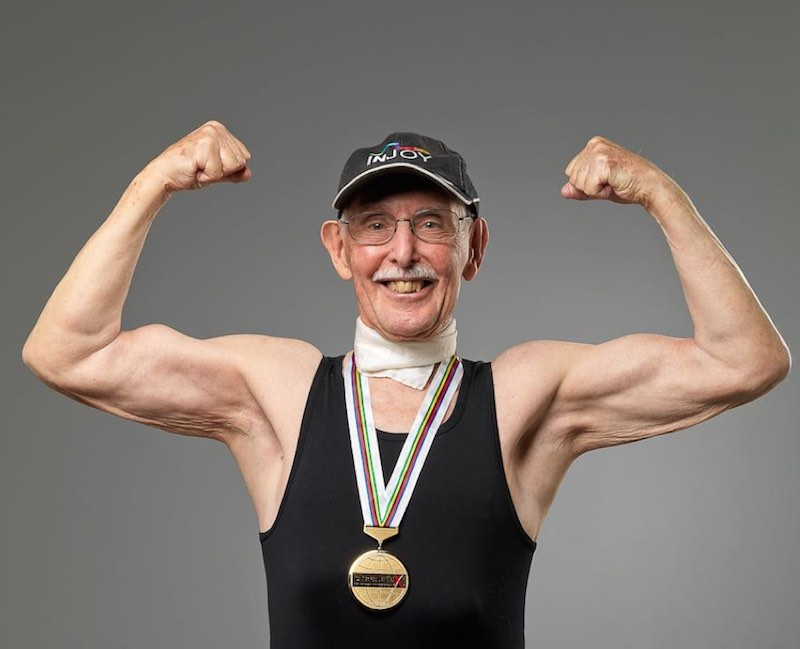 Charles Eugste-95yo-bodybuilder-FBphoto