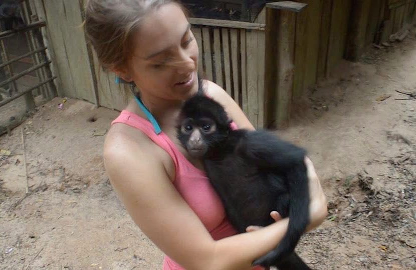 Dani-with-monkey-TrevorKing-submitted