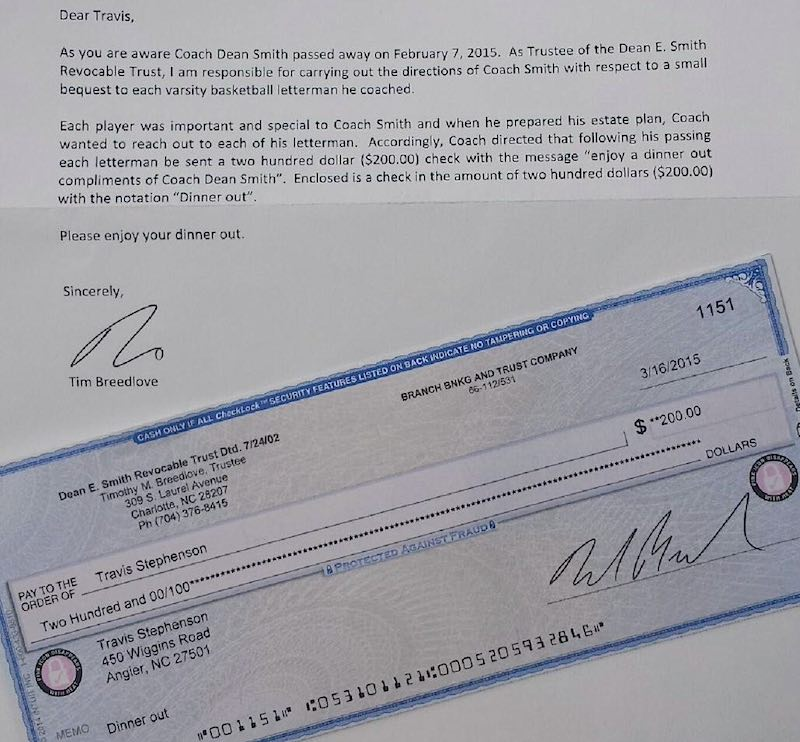Dean-Smith-letter-check
