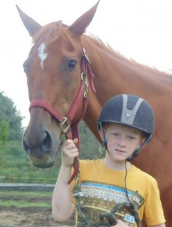 Horse_Saved_By_Boy_FamilyPhotoMJAllen