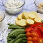 Mediterranean diet-veggies-dips-mealmakeovermoms