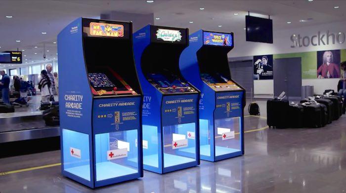 Swedavia arcade games-airport-YouTube-Swedavia