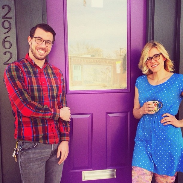 The_Purple_Door_Coffee_shop_Denver_Colorado_Instagram