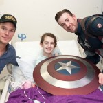 captain america chris evans and chris pratt-SeattleChildrens hospital-800px