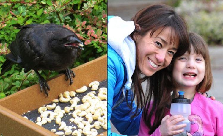 gabi mann with crow familyphoto-LisaMann
